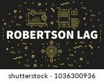 conceptual business... | Shutterstock . vector #1036300936