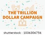 conceptual business...   Shutterstock . vector #1036306756