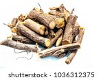 close up of ayurvedic herb... | Shutterstock . vector #1036312375
