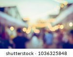 vintage tone blurred defocused... | Shutterstock . vector #1036325848