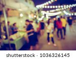 vintage tone blurred defocused... | Shutterstock . vector #1036326145