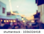 vintage tone blurred defocused... | Shutterstock . vector #1036326418