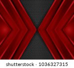 vector of abstract metallic... | Shutterstock .eps vector #1036327315