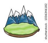alps peakes icon    Shutterstock .eps vector #1036346182