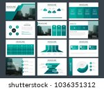 green bundle presentation... | Shutterstock .eps vector #1036351312