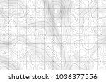 topographic map background....   Shutterstock .eps vector #1036377556