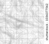 topographic map background....   Shutterstock .eps vector #1036377562