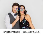 celebration  fun and holidays... | Shutterstock . vector #1036395616