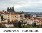 Praha And Prague Castle From...