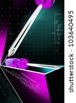 digital illustration of... | Shutterstock . vector #103640495