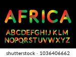 3d gradient bubble typeset....   Shutterstock .eps vector #1036406662