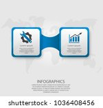 modern vector illustration 3d.... | Shutterstock .eps vector #1036408456
