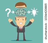 businessman select solutions....   Shutterstock .eps vector #1036420885