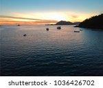 Sunset Over Manzanillo Bay ...