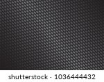 dark carbon fiber background ... | Shutterstock .eps vector #1036444432