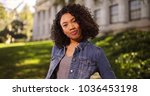 independent young african... | Shutterstock . vector #1036453198