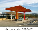 gas station | Shutterstock . vector #1036459