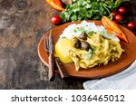mexican and peruvian cuisine.... | Shutterstock . vector #1036465012