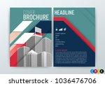 abstract modern background... | Shutterstock .eps vector #1036476706