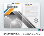 abstract modern background... | Shutterstock .eps vector #1036476712