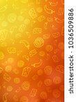 light red  yellow vertical...   Shutterstock . vector #1036509886