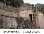 abandoned house from italian...   Shutterstock . vector #1036529698