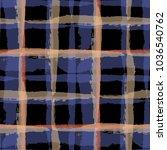 plaid. seamless grunge... | Shutterstock .eps vector #1036540762