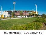 metricon stadium ready to... | Shutterstock . vector #1036552456