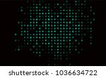 dark green vector cover with... | Shutterstock .eps vector #1036634722