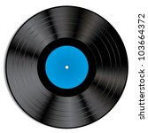 Vector Illustration Of A Vinyl...