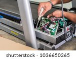 the technical repairing... | Shutterstock . vector #1036650265