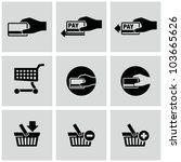 payment icons set. e commerce.