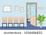 family doctor's consultation... | Shutterstock .eps vector #1036686832