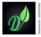 logo letter d | Shutterstock .eps vector #1036695082
