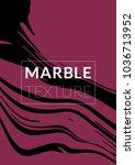 gradient vector marble texture. ... | Shutterstock .eps vector #1036713952