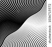 abstract warped diagonal... | Shutterstock .eps vector #1036715572