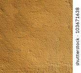 yellow textured wall gold... | Shutterstock . vector #103671638