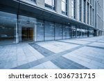 modern office building outdoors ... | Shutterstock . vector #1036731715