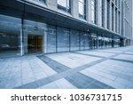 modern office building outdoors ... | Shutterstock . vector #1036731715