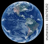 earth from space. satellite...   Shutterstock . vector #1036735252