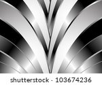 stylish abstract background.... | Shutterstock .eps vector #103674236