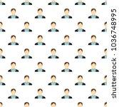 man avatar pattern seamless in...