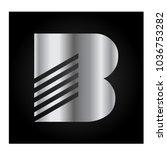 logo letter b | Shutterstock .eps vector #1036753282