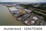 historic dock chatham | Shutterstock . vector #1036753606