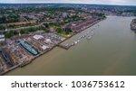 historic dock chatham | Shutterstock . vector #1036753612