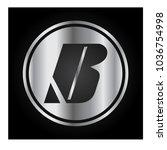 logo letter b | Shutterstock .eps vector #1036754998