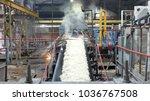industrial premises sugar... | Shutterstock . vector #1036767508