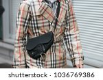 milan   february 25  man with...   Shutterstock . vector #1036769386