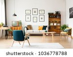 old tv and radio in retro style ...   Shutterstock . vector #1036778788