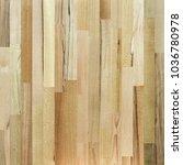 fragment of parquet floor.  | Shutterstock . vector #1036780978